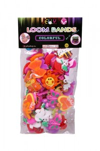 zawieszki jelly G6 do gumek Loom Bands